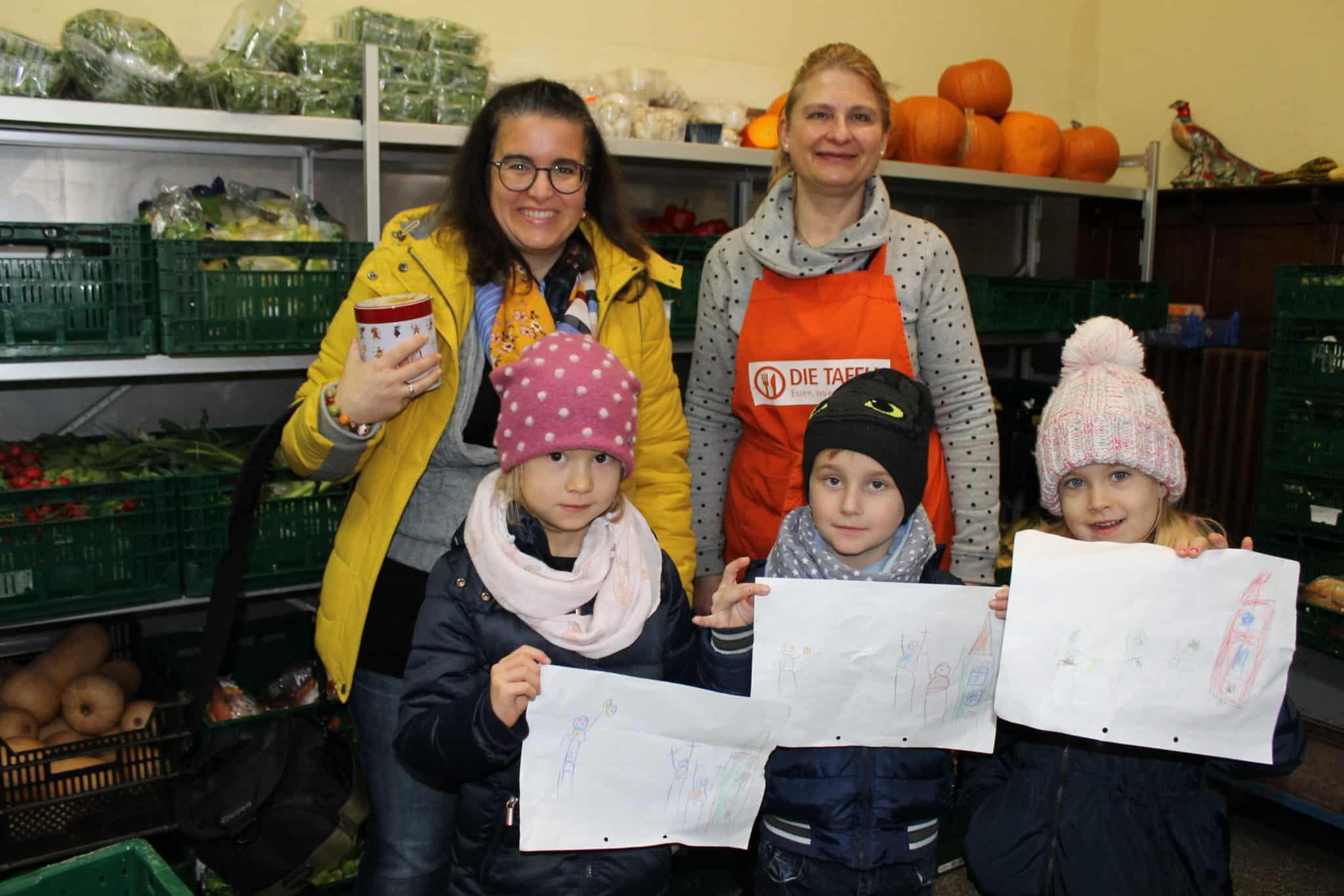 Wir sind zu Besuch in der Kindertafel in Osnabrück